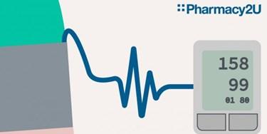 Illustration of blood pressure monitor