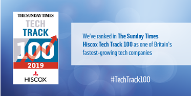 2019 Tech Track 100 Twitter Graphic