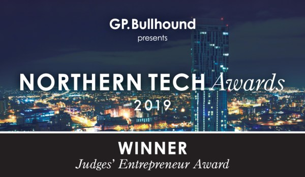 Northern Tech Awards 2019 Winner - Judges' Entrepreneur Award