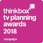 Thinkbox TV Planning Award 2018